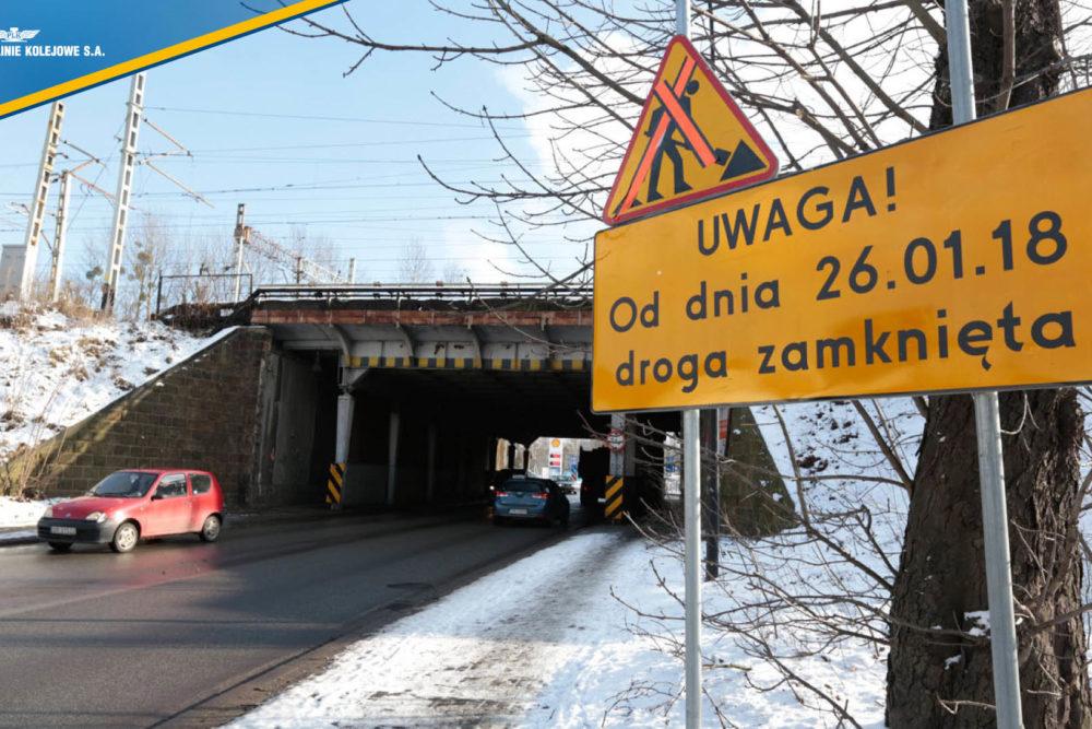 Obrazek: wiadukt nad Chwałowicką