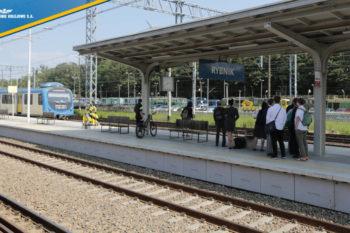 Zmodernizowane stacje w Rybniku i Żorach