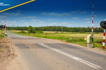 PKP Polskie Linie Kolejowe S.A. dbają o bezpieczeństwo na drogach