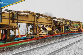 Kolejowy kombajn