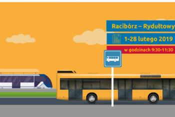 Zastępcza komunikacja autobusowa pomiędzy Raciborzem a Rydułtowami