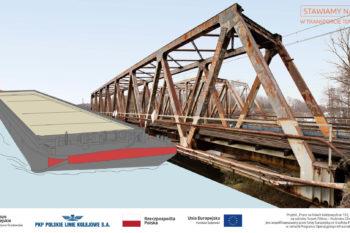 Barki remontują linię kolejową