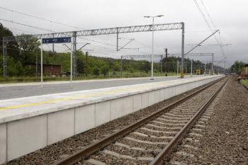 Nowe perony dla podróżnych
