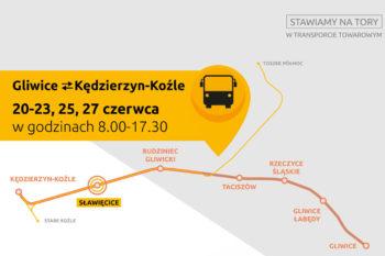 Z Gliwic do Kędzierzyna autobusem