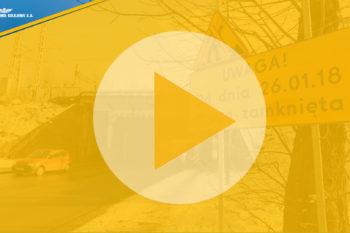 Wiadukt w Rybniku – zmiany w organizacji ruchu (WIDEONIFOGRAFIKA)