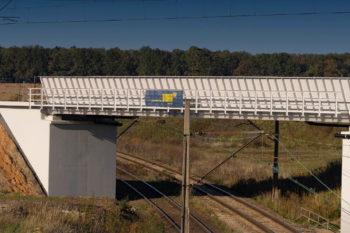 Odnowiony wiadukt kolejowy w Toszku