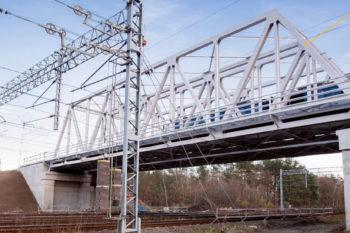 Obrazek: wiadukt kolejowo kolejowy