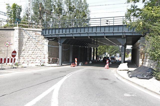 Obrazek: wiadukt na Chwałowickiej po zmianach