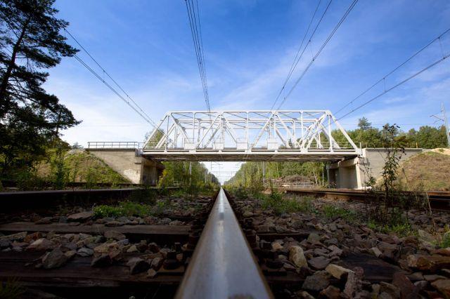 Obrazek; wiadukt kolejowy wPaczynie