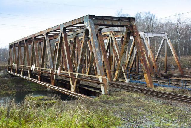 Most kolejowy nad Kanałem Kędzierzyńskim – stan obecny