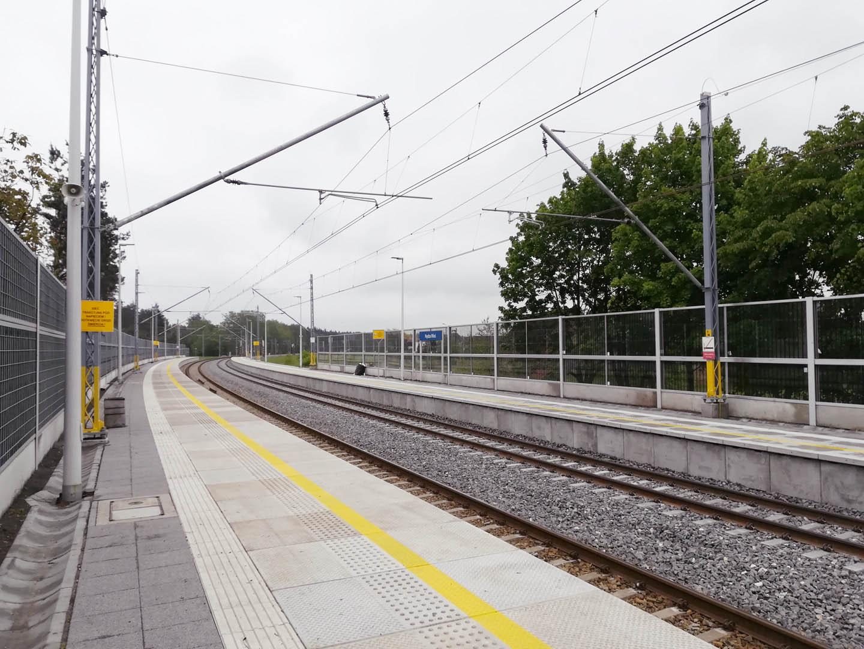 Obrazek: nowe perony w Nędzy Wsi