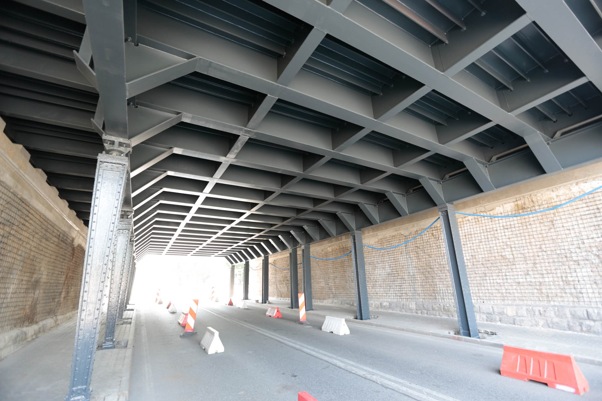 Obrazek: wiadukt nad ul. Chwałowicką