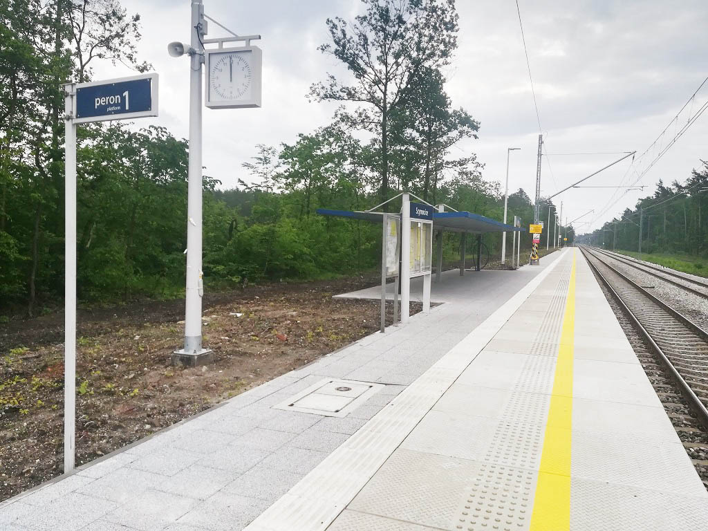Obrazek: nowy peron w Szymocicach