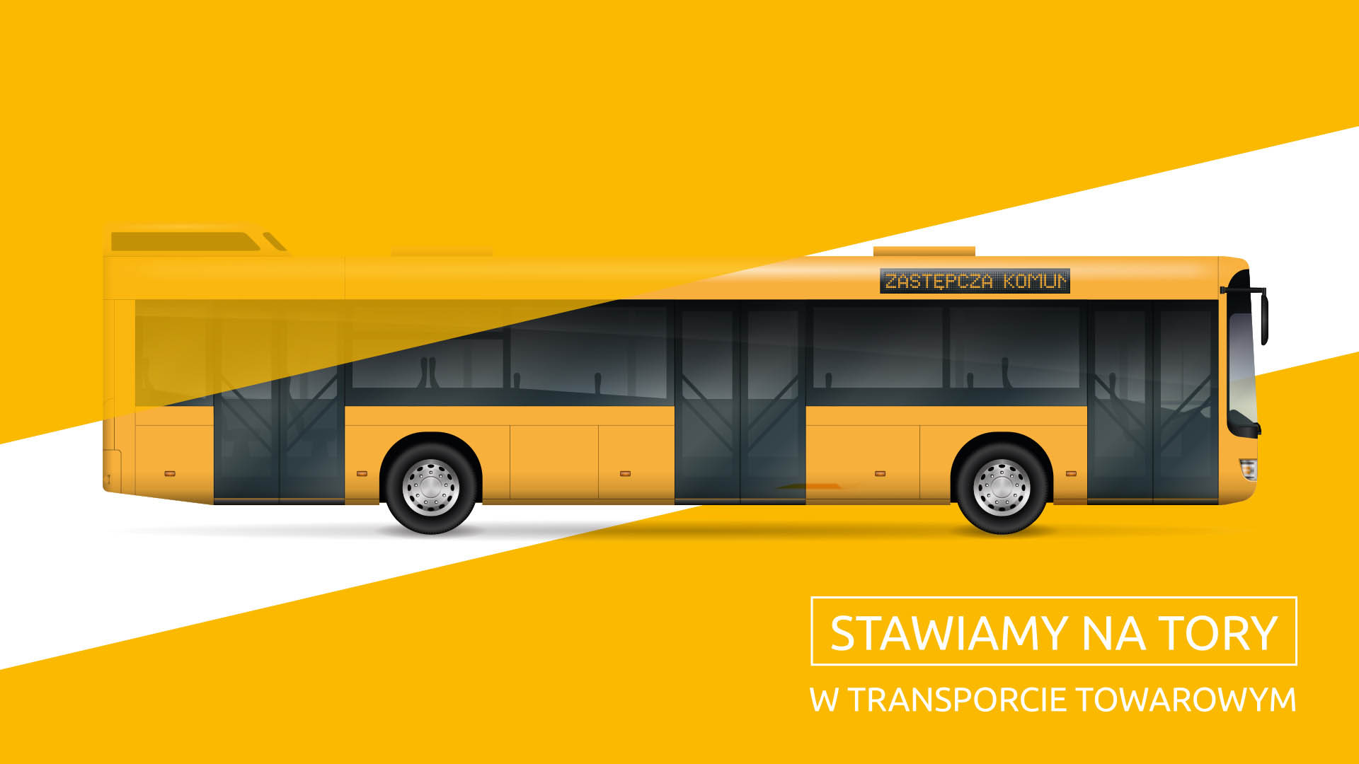 Obrazek: żółty autobus