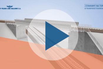 Obrazek: grafika z wiaduktem w Toszku
