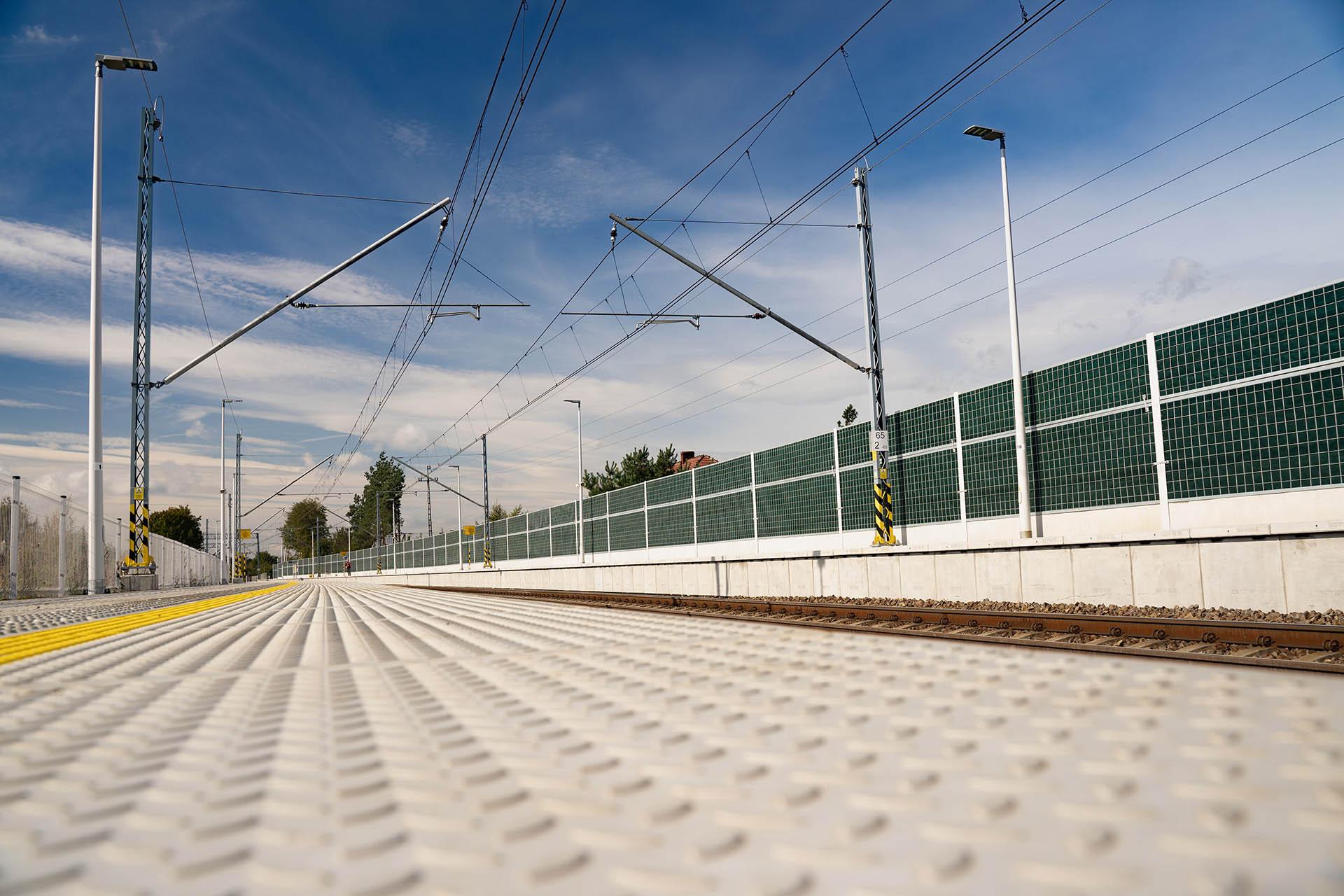 Obrazek: stacja kolejowa