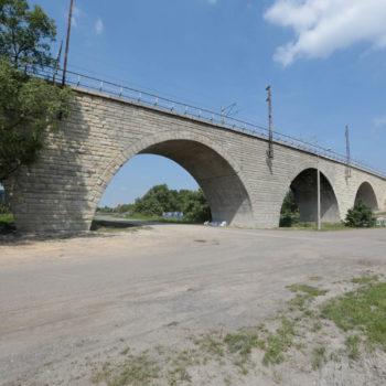 Zdjęcie: lato, Most Zamysłowski w tle błękitne niebo.