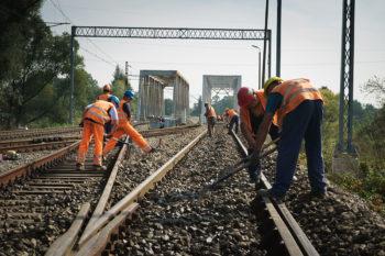 Wrzesień 2017: Prace remontowe na linii kolejowej na odcinku Chybie – Nędza/Turze
