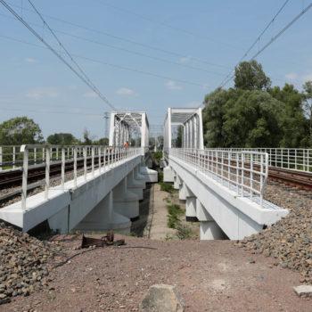Zdjęcie: most w Strumieniu.