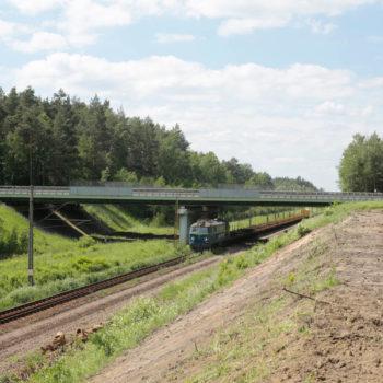 Zdjęcie: lato, wiadukt drogowy nad A4
