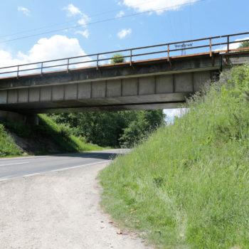 Zdjęcie: lato, wiadukt nad DK94.