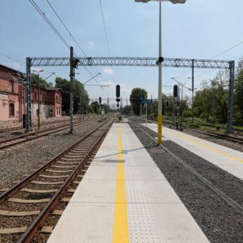 Zdjęcie: odnowiona stacja Żory.