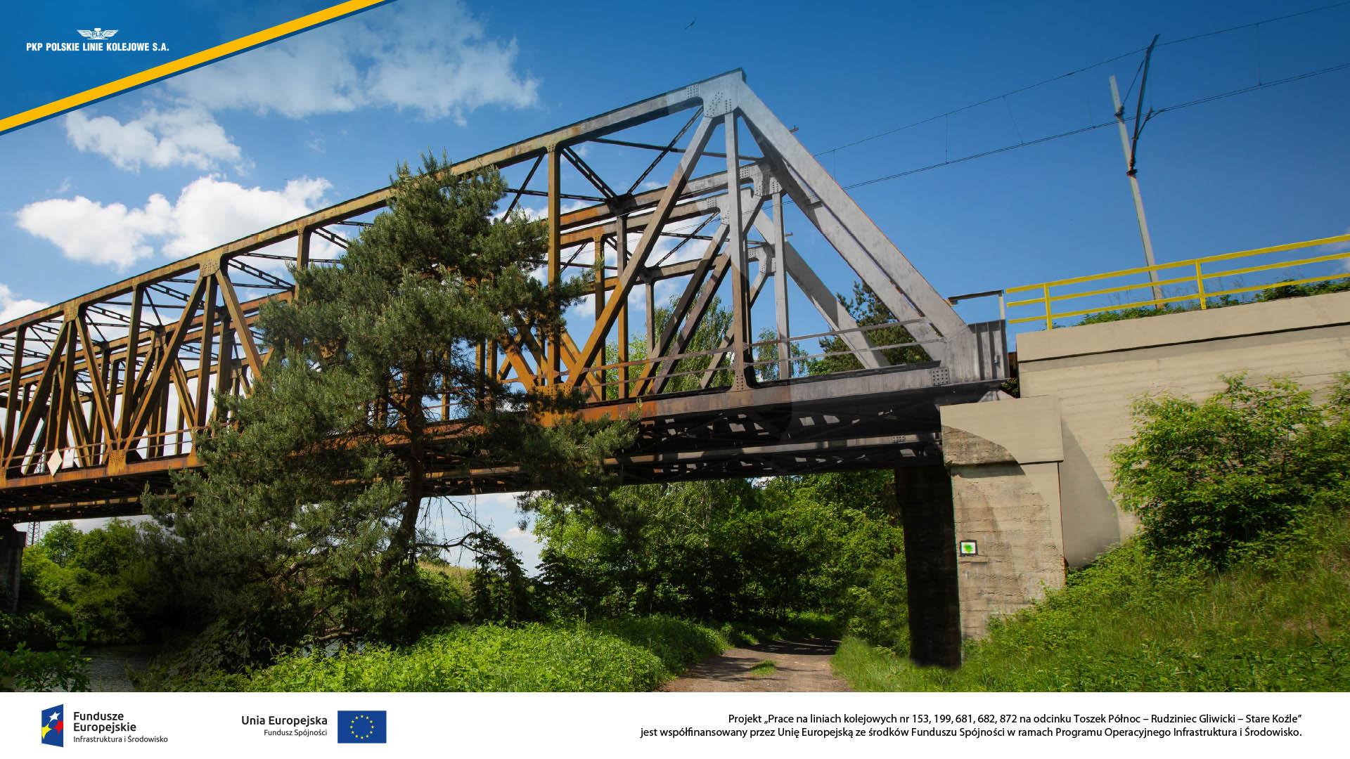 Obrazek: most nad Kanałem Gliwickim