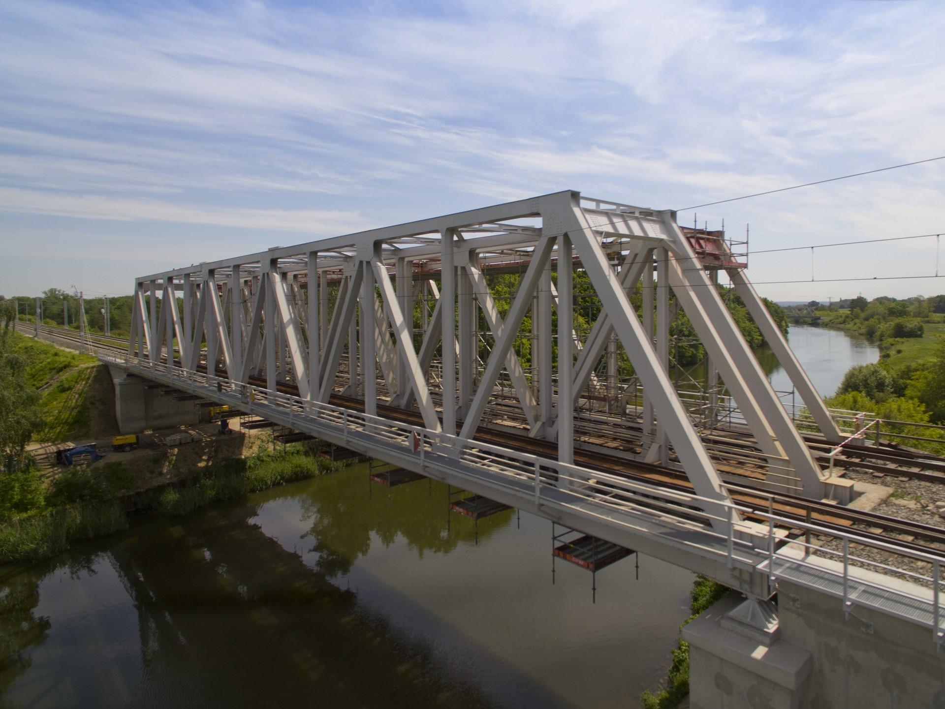Obrazek: most na Kanale Gliwickim