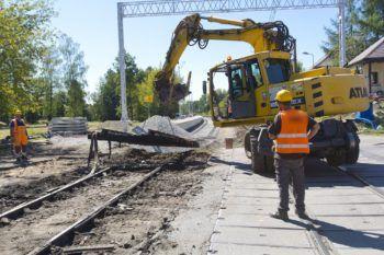 Wrzesień 2020: Prace budowlane w Chełmku