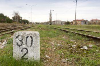Październik 2020: Stan przed rozpoczęciem prac na linii nr 182