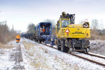 Styczeń 2021: pierwsze prace na linii Tarnowskie Góry – Zawiercie