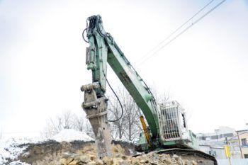 Styczeń 2021: prace na wiaduktach w Chrzanowie