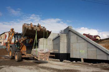 Marzec 2021: Prace budowlane w Chrzanowie