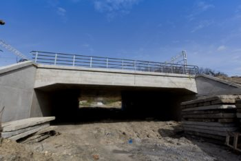 Kwiecień/ Maj 2021: Widok na prace budowlane w Chrzanowie